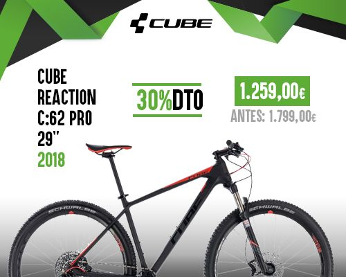 Oferta Cube Reaction C:62 PRO 29''