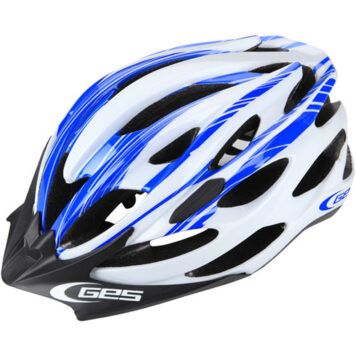 casco ges wind azul blanco