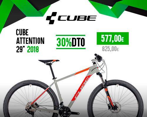 Oferta Cube Attention 29'' 2018