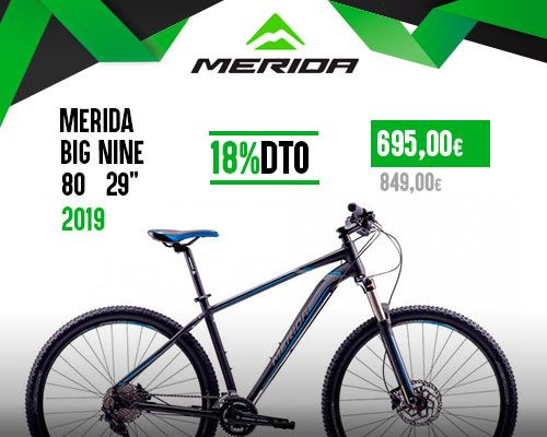 Oferta Merida Big Nine 80 29' 2019