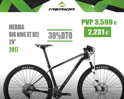 Oferta Merida big nine xt di2 2017