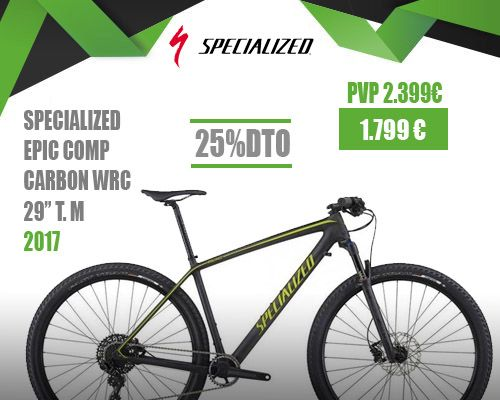 oferta SPECIALIZED EPIC HT COMP CARBON WC 29″ 2017